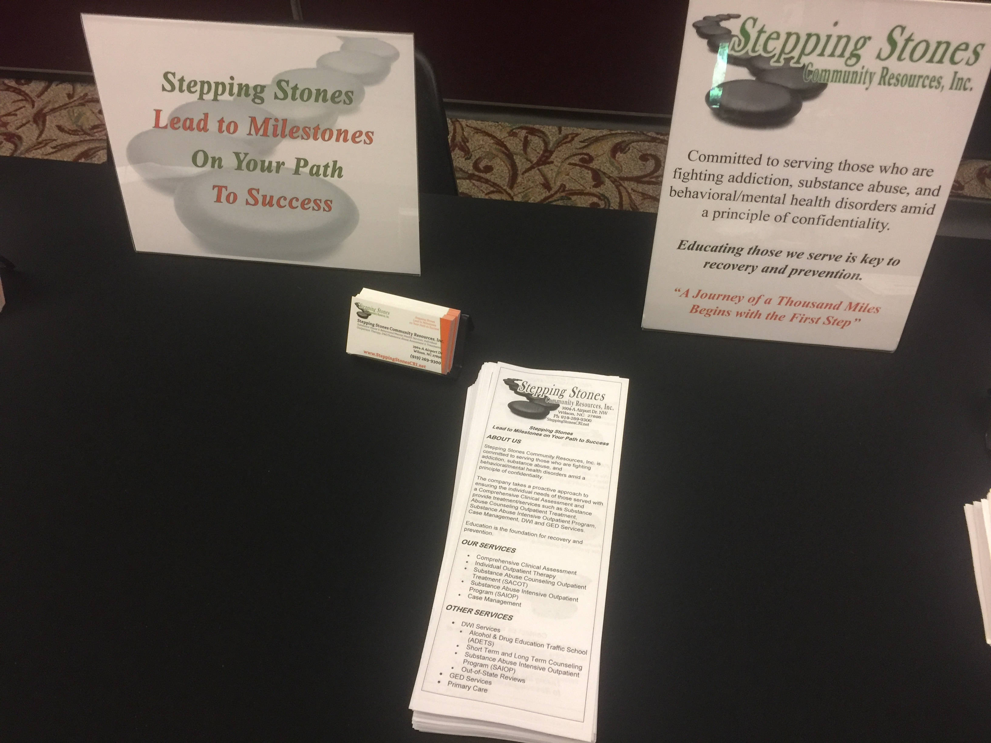 Stepping Stones Attends The Nc Substance Abuse Prevention Conference